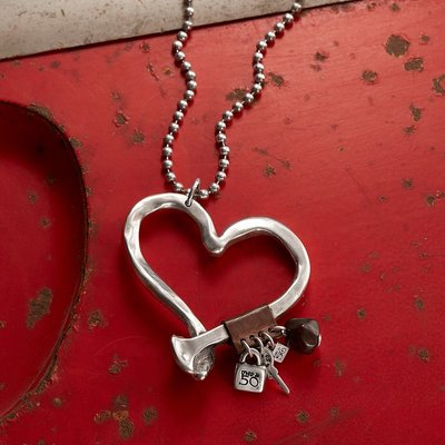 UNOde50 UNOde50 Ketting   LOVE AT FIRST SIGHT   COL0474MTMR
