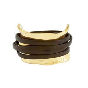 UNOde50 UNOde50 Armband | IBIZA  | GOLD | Stijl Icoon