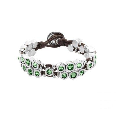 UNOde50 UNOde50 Armband | HONEY MOON | ZILVER | KRISTAL | FW19 | PUL1875VRDMTL0M