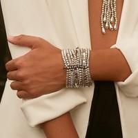 UNOde50 UNOde50 Armband | TRIVIAL | ZILVER | Brede armband