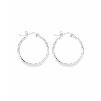 MIAB Jewels MIAB Oorbellen | Zilver | Flatly| 925 Sterling Zilver