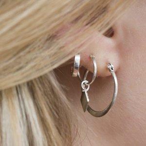 MIAB Jewels MIAB Oorbellen | Zilver | Flatly
