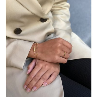 MIAB Jewels MIAB Ring | Goud | Bar Ring