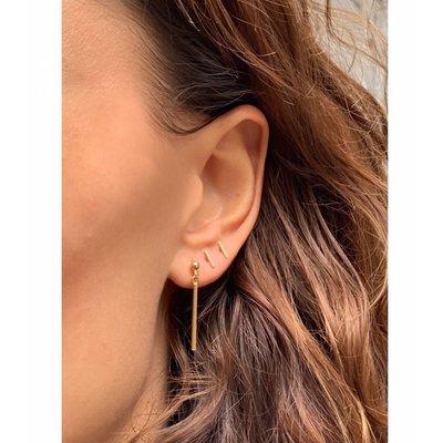 MIAB Jewels MIAB Oorbellen | Rose Goud | Sticky | 14k Rose Goud Vermeil