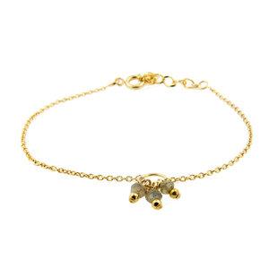 LILLY LILLY Armband   Precious Bunch Gold   Labradoriet   18 Karaats