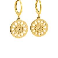 LILLY LILLY Oorbellen | Diamond Inca Gold | 18 Karaats
