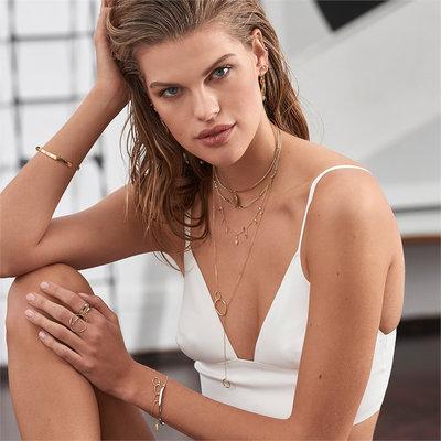 ANIA HAIE ANIA HAIE Bracelet   TWIST   Zilver   B012-02H