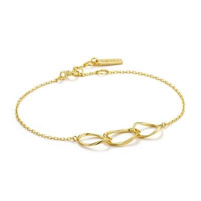 ANIA HAIE ANIA HAIE Bracelet | SWIRL NEXUS | Gold | B015-01G