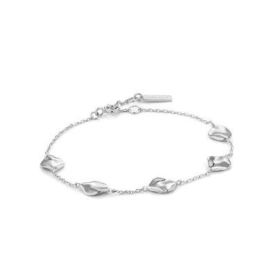 ANIA HAIE ANIA HAIE Bracelet | CRUSH MULTIPLE DISCS | Zilver | B017-03H