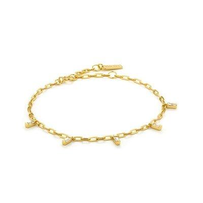 ANIA HAIE ANIA HAIE Bracelet   GLOW DROP   Gold   B018-01G