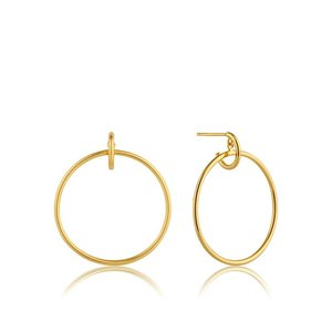 ANIA HAIE ANIA HAIE Earrings |  FRONT HOOPS | GOLD