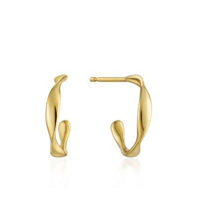 ANIA HAIE ANIA HAIE Earrings | TWIST MINI | GOLD | E015-01G