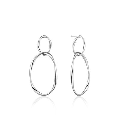ANIA HAIE ANIA HAIE Earrings | SWIRL NEXUS | ZILVER | E015-02H