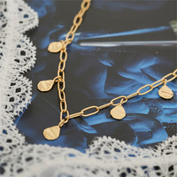 ANIA HAIE ANIA HAIE Necklace | CRUSH DROP DISCS | GOLD