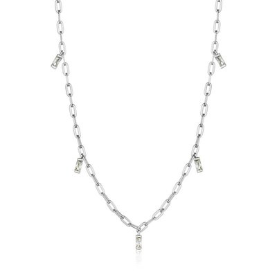ANIA HAIE ANIA HAIE Necklace | GLOW DROP | ZILVER | N018-02H