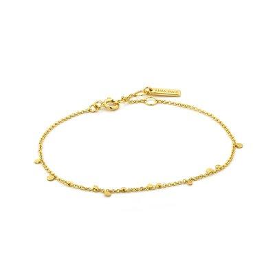 ANIA HAIE ANIA HAIE Bracelet | GEOMETRY MIXED DISCS | GOLD | B005-02G