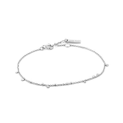 ANIA HAIE ANIA HAIE Bracelet | GEOMETRY MIXED DISCS | Zilver | B005-02H