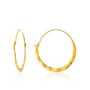 ANIA HAIE ANIA HAIE Earrings | CRUSH HOOPS | GOLD