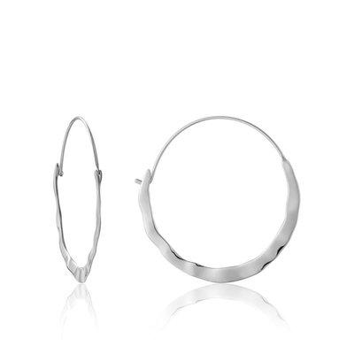 ANIA HAIE ANIA HAIE Earrings | CRUSH HOOPS | ZILVER | E017-07H