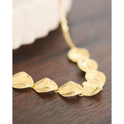 ANIA HAIE ANIA HAIE Necklace | CRUSH MULTIPLE DISCS | GOLD | N017-04G