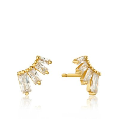 ANIA HAIE ANIA HAIE Earrings | GLOW BAR | STUDS | GOLD | E018-04G