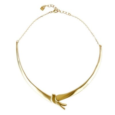 UNOde50 UNOde50 Ketting | COME FLY WITH ME | GOLD | JAPAN | COL1456ORO0000U
