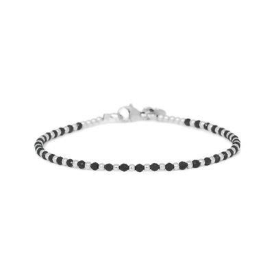 MIAB Jewels MIAB Armband | Zilver | Black | One by One