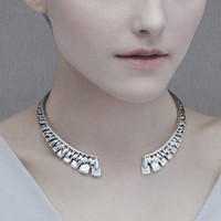 UNOde50 UNOde50  Ketting | FEATHER IN THE BREEZE | ZILVER | JAPAN SS20