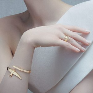 UNOde50 UNOde50 Armband | COME FLY WITH ME | GOLD | JAPAN SS20