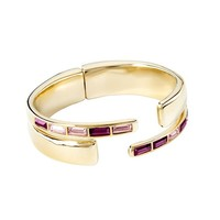 UNOde50 UNOde50 Armband | NIGHTBIRD WRAP | GOLD | PURPLE | JAPAN SS20