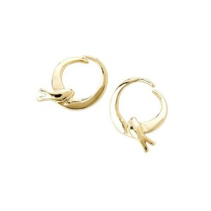 UNOde50 UNOde50 Oorbellen | COME FLY WITH ME | GOLD | JAPAN SS20