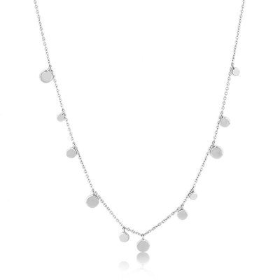 ANIA HAIE ANIA HAIE Necklace | GEOMETRY MIXED DISCS | ZILVER | N005-01H