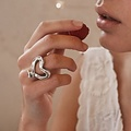 UNOde50 UNOde50  Ring | NAILED HEART | Zilver Hart
