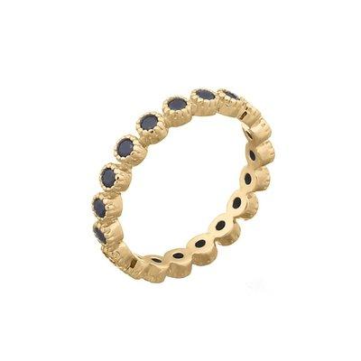 MIAB Jewels MIAB Ring | Goud | Blacky Black