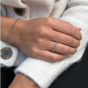 MIAB Jewels MIAB Ring | Zilver | Blacky Black