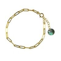 BLINCKSTAR BLINCKSTAR Armband   Goldfilled   Rechte Schakel