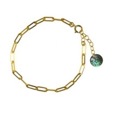 BLINCKSTAR BLINCKSTAR Armband | Goldfilled | Rechte Schakel | 1902A65