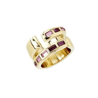 UNOde50 UNOde50 Ring | NIGHTBIRD WRAP | GOLD | PURPLE | JAPAN | ANI0621OROMOR00