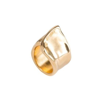 UNOde50 UNOde50 Ring | THE CREVICE | GOLD | ANI0248ORO000