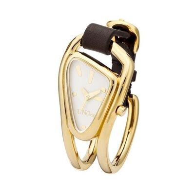 UNOde50 UNOde50 Horloge | DIN DON | GOLD | WIT | REL0140BLNMAR0U