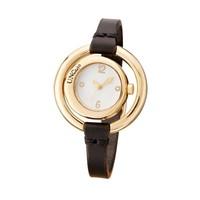UNOde50 UNOde50 Horloge | TIME AFTER TIME | VERGULD | BRUIN