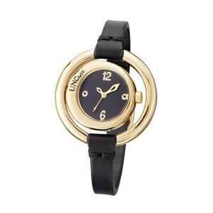 UNOde50 UNOde50 Horloge | TIME AFTER TIME | GOLD | ZWART