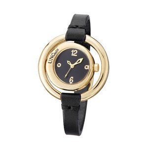 UNOde50 UNOde50 Horloge | TIME AFTER TIME | VERGULD | ZWART