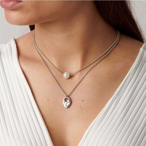 UNOde50 UNOde50  Ketting | CANDY-CANDY | ZILVER | PAREL