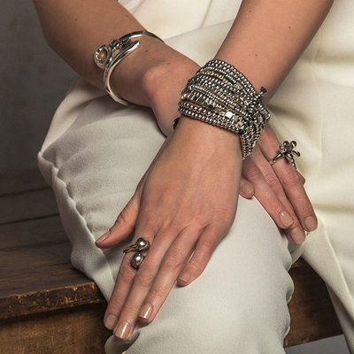 UNOde50 UNOde50 Armband   TRIVIAL   ZILVER   Brede armband   PUL0951MTLMAR0M