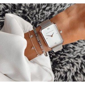 KAPTEN & SON KAPTEN & SON Horloge | GRACE ZILVER | MESH
