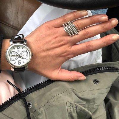 UNOde50 UNOde50 Horloge |  LET'S CATCH UP | BRUIN WIT | REL0104BLNMAR0U