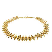 LILLY LILLY Armband | Double Multi Balls Gold | 18 Karaats