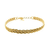 LILLY LILLY Armband | Bangle Weaved Gold | 18 Karaats