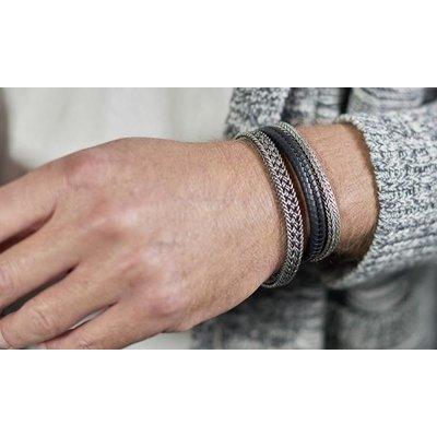 SILK Jewellery SILK Armband   262 ARMBAND   MESH   ZILVER